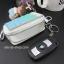 กระเป๋าซองหนังใส่ กุญแจรีโมทรถยนต์ ได้ทุกรุ่น ประดับคริสตัล DIY สี ขาว/เขียว/ฟ้า (ไม่รวม-ตุ๊กตา) thumbnail 8
