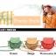 กระเป๋ามินิ Handmade Musette สีส้ม thumbnail 2