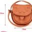 กระเป๋ามินิ Handmade Musette สีส้ม thumbnail 4