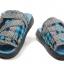 แฟชั่นรองเท้าแตะชาย เอดิสัน รองเท้าแตะ สีฟ้าลายสก๊อต ไซส์ 44 thumbnail 2