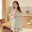 ชุดเดรสสั้นแฟชั่นเกาหลี พิมพ์ลายเก๋ๆ สีสดใส เหมาะกับการใส่เที่ยวสบาย หรือ จะใส่ไปงานเลี้ยง จะทำให้คุณดูสวย สง่า มั่นใจ thumbnail 4