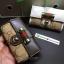 กระเป๋าพวงกุญแจ Gucci กุชชี่ ลายใหม่ คุณภาพเป็นเลิศ สี น้ำตาล - ขาว (Pre) thumbnail 14