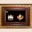 ของพรีเมีี่ยม กรอบไม้คู่ลายไทย A26 A27 (ขนาด : 6.5 x 8.5 นิ้ว ) thumbnail 1