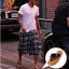 รองเท้าแตะผู้ชาย K - Swiss inspired Plush 2 สี ดำ,น้ำตาล/กาแฟ thumbnail 1