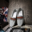 แฟชั่นรองเท้าชาย รองเท้าหนังผ้าใบ ไสต์เกาหลี สีเบจ/สีเทา/สีฟ้าอ่อนไซส์ 42-43-44 (Pre) thumbnail 10