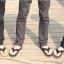 รองเท้าแตะผู้ชาย K - Swiss inspired Plush 2 สี ดำ,น้ำตาล/กาแฟ thumbnail 11