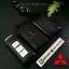 ซองหนังแท้ ใส่กุญแจรีโมทรถยนต์ Mitsubishi Mirage,Attrage,Triton,Pajero Smart Key 2,3 ปุ่ม โลโก้ป้ายเงิน thumbnail 6