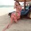 ชุดเดรสยาวใส่เที่ยวทะเลสวยๆ โทนสีชมพูพีช เปิดไหล่ ลายดอกไม้น่ารักๆ ผ้าชีฟองสวมใส่สบาย thumbnail 4