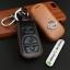 ซองหนังแท้ ใส่กุญแจรีโมทรถยนต์ รุ่นโลโก้เหล็ก Nissan Navara,Tiida Smart Key แบบใหม่ thumbnail 4
