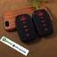ปลอกซิลิโคน หุ้มกุญแจรีโมทรถยนต์ Toyota Fortuner/Camry 2015-17 Smart Key 4 ปุ่ม สีดำ/แดง thumbnail 2