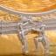 ของพรีเมี่ยม จานโลหะวงรี ขนาดกว้าง 14 ซม. สูง 12 ซม. thumbnail 4