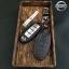 ซองหนังแท้ ใส่กุญแจรีโมทรถยนต์ รุ่นหนังนิ่ม โลโก้-เงิน Nissan Teana,Almera,Sylphy,Xtrail Smart Key 4 ปุ่ม thumbnail 6
