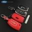 กรอบ-เคส ใส่กุญแจรีโมทรถยนต์ รุ่นเรืองแสง Ford Fiesta,Focus พับข้าง รุ่น 3 ปุ่ม thumbnail 1