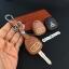 ซองหนังแท้ ใส่กุญแจรีโมทรถยนต์ รุ่นเรืองแสง Mitsubishi สปซวากอน แบบดอกกุญแจ thumbnail 9