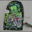 ชุดขี่มอเตอร์ไซค์ โม่งคลุมหัว Monster มีลาย4 thumbnail 1