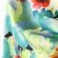ชุดเดรสสั้น ผ้าชีฟองแขนกุด ลายดอกไม้ ไซส์ M thumbnail 6