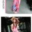 ชุดเดรสเที่ยวทะเลยาวสีชมพู ใส่ไปเที่ยวทะเล เย็บคล้องคอ เอวยืด พิมพ์ลายดอกไม้ สวยหวาน thumbnail 2