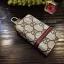 กระเป๋าซองหนัง ใส่กุญแจรีโมทรถยนต์ รุ่นซิบรอบ พิมพ์ลายโลโก้ Gucci thumbnail 1