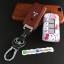 กรอบ-เคส ใส่กุญแจรีโมทรถยนต์ Mitsubishi Mirage,Attrage,Triton,Pajero ABS Smart Key ลาย Kitty thumbnail 7