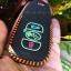 ซองหนังแท้ ใส่กุญแจรีโมทรถยนต์ รุ่นเรืองแสงด้ายสี Subaru XV,Forester,Brz,Outback 2015-18 Smart Key thumbnail 7