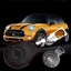 ซองหนังแท้ ใส่กุญแจรีโมทรถยนต์ MINI Cooper Countryman รุ่น 3 ปุ่ม thumbnail 3