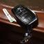 กรอบ-เคส ใส่กุญแจรีโมทรถยนต์ All New Toyota Fortuner TRD/Camry 2015-17 Smart 4 ปุ่ม โลโก้_เงิน thumbnail 11