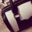 กระเป๋าถือ สะพายใหล่ ทรงกระบอก หนังนิ่ม สี ขาว/ดำ แบบใหม่ thumbnail 7