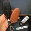 ซองหนังแท้ ใส่กุญแจรีโมทรถยนต์ รุ่นหนังนิ่ม Nissan Teana,Almera,Sylphy,Xtrail Smart Key 4 ปุ่ม thumbnail 8