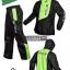 ชุดขี่มอเตอร์ไซค์ เสื้อกันฝน ยี่ห้อ PLOE สีเขียว ไซน์ XL สีดำ-เขียว thumbnail 1