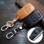 ซองหนังแท้ ใส่กุญแจรีโมทรถยนต์ Subaru XV,Forester,Brz 2015,Outback 2017-18 Smart Key thumbnail 1