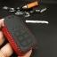 ซองหนังแท้ ใส่กุญแจรีโมทรถยนต์ รุ่นด้ายสีทรูโทน Honda Accord All New City 2014-18 Smart Key 3 ปุ่ม thumbnail 1