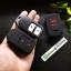 ปลอกซิลิโคน หุ้มกุญแจรีโมทรถยนต์ Honda HR-V,JAZZ,CR-V,BR-V Smart Key 2 ปุ่ม สี ดำ/แดง thumbnail 5