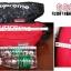 กระเป๋าคาดเอวขี่มอเตอร์ไซค์ Supreme สีแดง thumbnail 3
