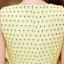 ชุดทำงานแฟชั่นเกาหลีสวยๆ ชุดทำงานออฟฟิศ ชุดเซ็ท 2 ชิ้น เสื้อคลุม + มินิเดรสสั้นสีเหลือง ผ้า Jacquard ( S,M,L,XL ) thumbnail 15