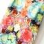 ชุดเดรสสั้น ผ้าชีฟองแขนกุด ลายดอกไม้ ไซส์ M thumbnail 4