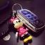 กรอบ-เคส ใส่กุญแจรีโมทรถยนต์ Toyota Hilux Revo Smat Key 3 ปุ่ม โลโก้_เงิน thumbnail 8
