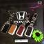 NEW กรอบ_เคส ใส่กุญแจรีโมทรถยนต์ รุ่นโคเมียม HONDA HR-V,CR-V,BR-V,JAZZ Smart Key 2 ปุ่ม thumbnail 2