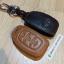 ซองหนังแท้ ใส่กุญแจรีโมทรถยนต์ รุ่นโลโก้เหล็ก Hyundai Elantra 2,3 ปุ่ม พับข้าง thumbnail 3