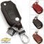 ซองหนังแท้ ใส่กุญแจรีโมทรถยนต์ รุ่นแบบสวมถอดได้ Chevrolet Captiva,Cruze,Colorado,Trailblazer,Sonic พับข้าง รุ่น 3 ปุ่ม สีดำ thumbnail 3