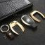 กรอบ-เคส ใส่กุญแจรีโมทรถยนต์ รุ่นอลูมิเนียม ตูดตัด Mercedes Benz Smart Key thumbnail 7