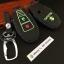 ซองหนังแท้ ใส่กุญแจรีโมทรถยนต์ รุ่นด้ายสีเรืองแสง ใหม่ All New Suzuki Swift,Ciaz thumbnail 4