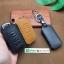 ซองหนังแท้ ใส่กุญแจรีโมทรถยนต์ หนังลาตินั่มคอร์ Mitsubishi Mirage,Attrage,Triton,Pajero Smart Key 2,3 ปุ่ม thumbnail 7