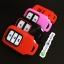 New ปลอกซิลิโคน หุ้มกุญแจรีโมทรถยนต์ Honda HR-V,Jazz,CR-V,BR-V Smart Key 2 ปุ่ม แบบใหม่ thumbnail 4
