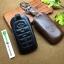 ซองหนังแท้ ใส่กุญแจรีโมทรถยนต์ หนัง Cowhide All New Toyota Fortuner/Camry Hybrid 2015-17 Smart Key 4 ปุ่ม thumbnail 3