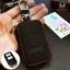 กระเป๋าซองหนังแท้ ใส่กุญแจรีโมทรถยนต์ รุ่นมินิซิบรอบ HONDA HR-V,CR-V,BR-V,JAZZ Smart Key 2 ปุ่ม thumbnail 6