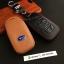 ซองหนังแท้ ใส่กุญแจรีโมทรถยนต์ รุ่นโลโก้-ฟ้า Subaru XV,Forester,Brz,Outback 2015-18 Smart Key thumbnail 3