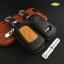 กระเป๋าซองหนังแท้ รุ่นมินิซิบรอบทรูโทน ใส่กุญแจรีโมทรถยนต์ Chevrolet Captiva,Cruze,Colorado,Trailblazer,Sonic 2,3 ปุ่ม thumbnail 1