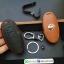 ซองหนังแท้ ใส่กุญแจรีโมทรถยนต์ รุ่นหนังนิ่ม โลโก้-เงิน Nissan Teana,Almera,Sylphy,Xtrail Smart Key 4 ปุ่ม thumbnail 10