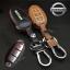 ซองหนังแท้ ใส่กุญแจรีโมทรถ Nissan March,X-Trail,Navara,Juke,Pulsar Smart Key 3 ปุ่ม รุ่นเรืองแสง thumbnail 2