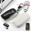กรอบ-เคส ใส่กุญแจรีโมทรถยนต์ Toyota Hilux Revo Smat Key 3 ปุ่ม โลโก้_เงิน thumbnail 5